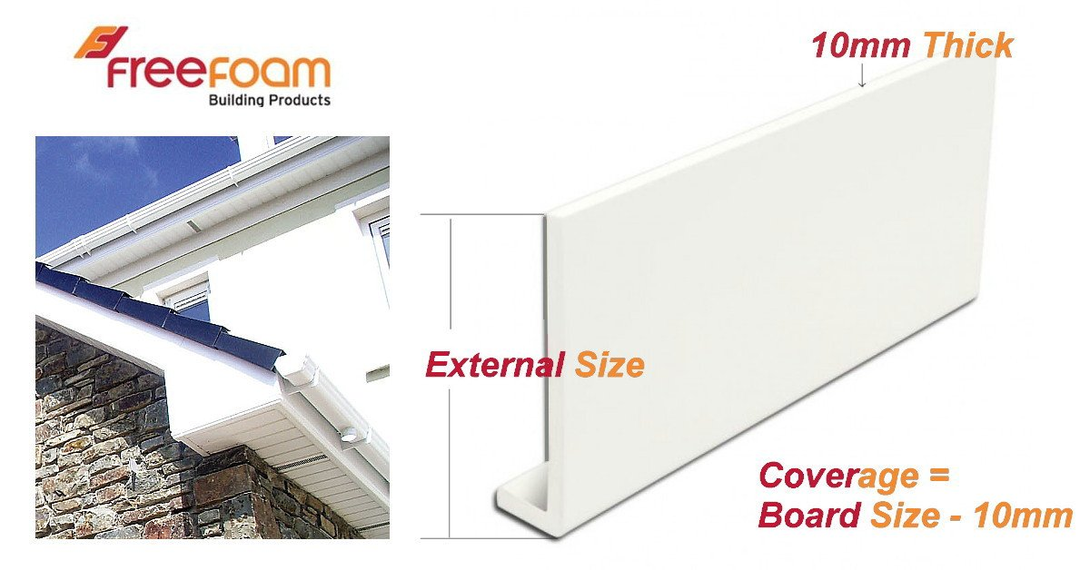 freefoam fascia board specification information size