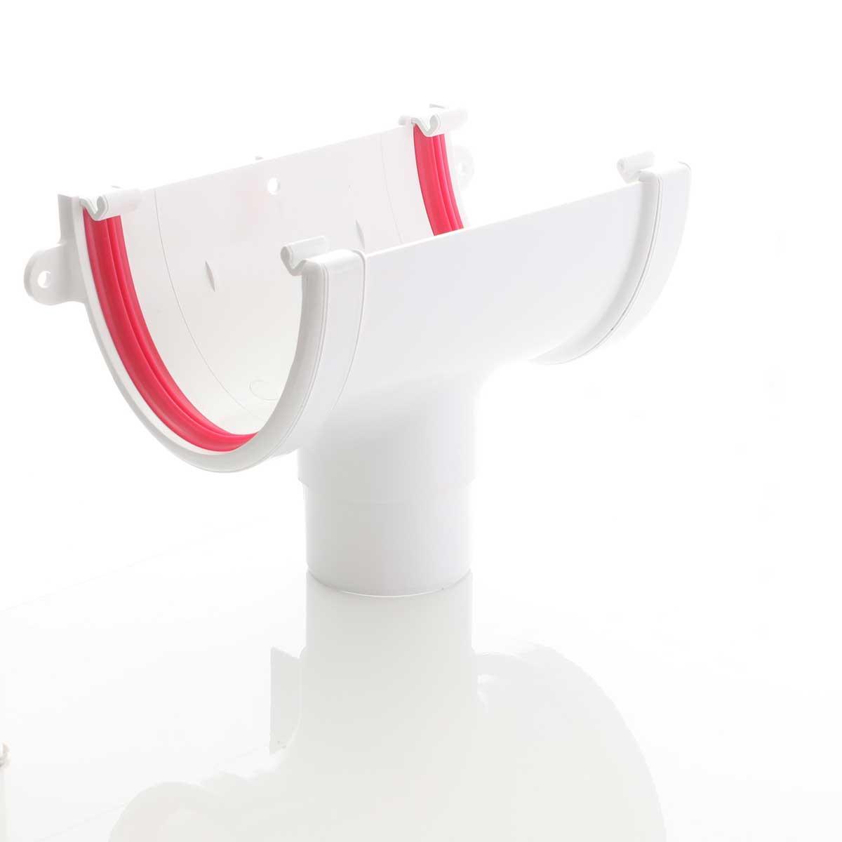 Gloss White Deep Flow Guttering High Capacity