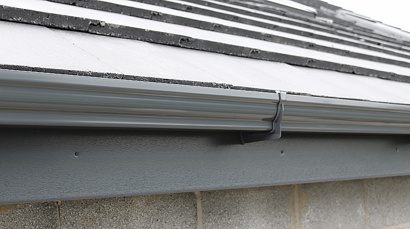 Anthracite Grey Guttering 7024