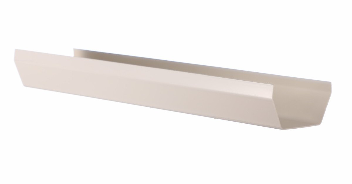 4m square gutter white from Aquaflow available in Bristol and Clevedon
