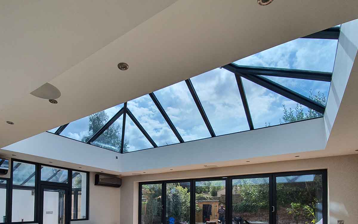 glass roof lantern roofs made to measure  Ultra Frame