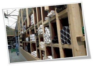 Master Plastics Pipe Storage