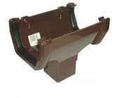 Brown Square Guttering