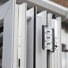 bi-fold door hinge section