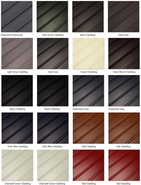 Shiplap Cladding Colour Options