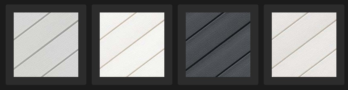 Textured Embossed External Cladding Systems