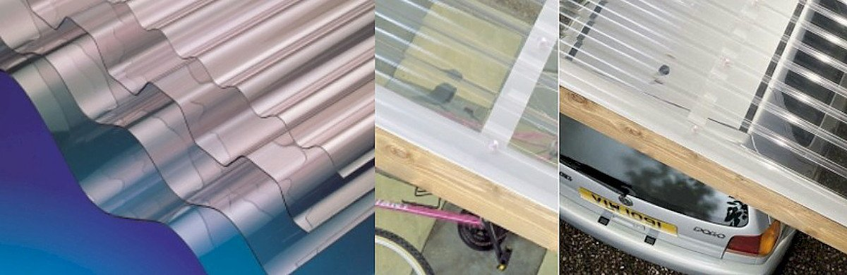 Clear Corrugated Roof Sheets PVC