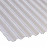 Mini Corrugated Sheet 1 Inch Profile PVC Corolux