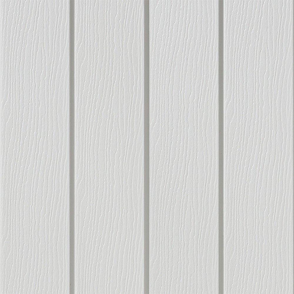 Light Grey Vertical Cladding