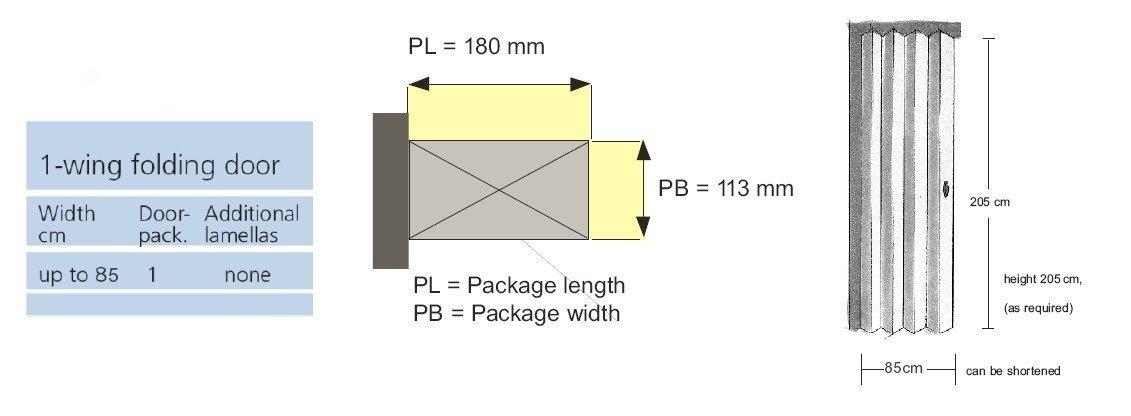 Rapid Folding Door