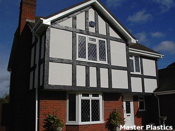 Plastic Mock Tudor Exterior Beams Looks Like Wood