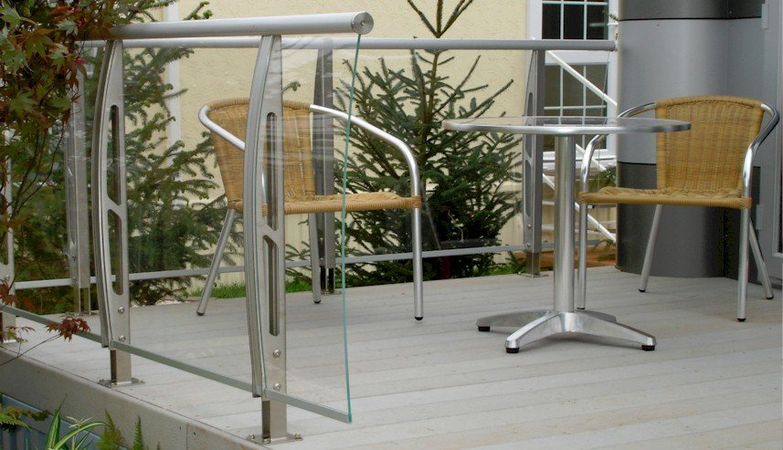 Stainless Steel Acrylic Railings