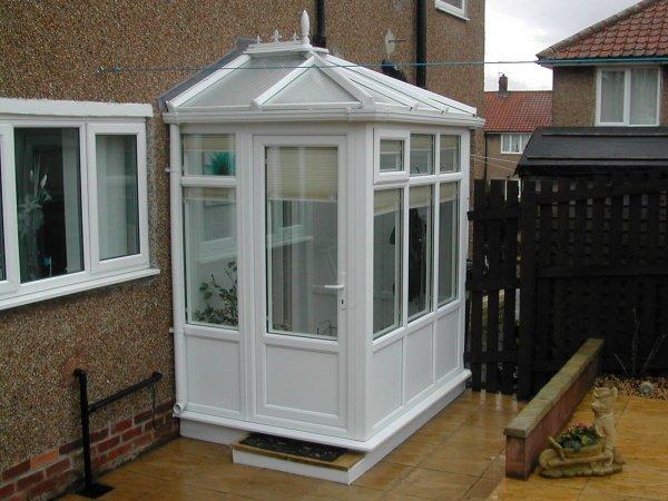 Porch Glass Pvc Diy Edwardian Design Ideas Front