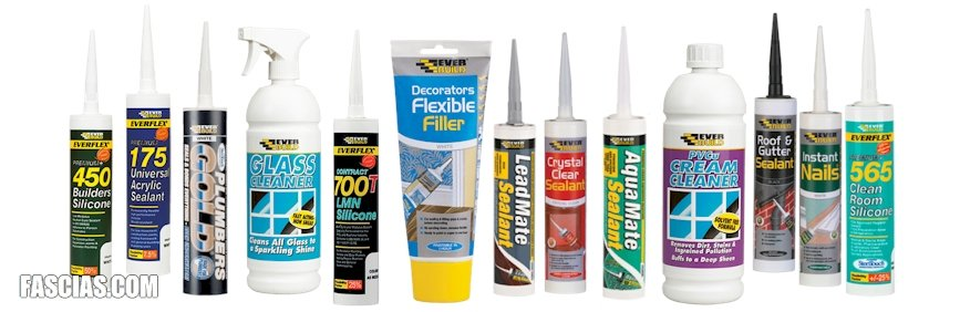 Silicone, Sealants & Glue